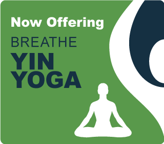 Oferring Breathe Hot Yoga Yin Classes
